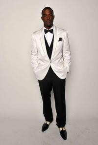 Lance Gross at the 40th NAACP Image Awards.