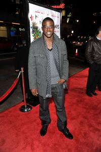 Lance Gross at the premiere of