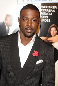 Lance Gross at the New York premiere of