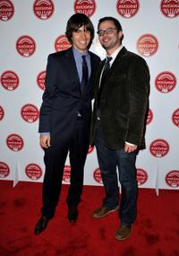 Ricky Van Veen and Nick Kroll at the National Season premiere of