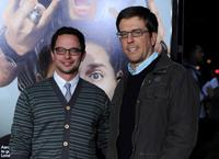 Nick Kroll and Ed Helms at the premiere of