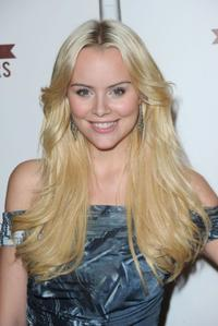 Helena Mattsson at the E! 20th Anniversary party celebrating two decades of pop culture.