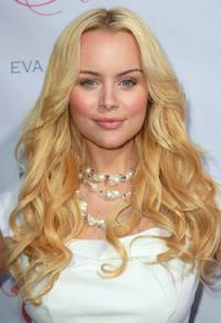 Helena Mattsson at the launch of Eva Longoria Parker's fragrance