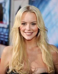 Helena Mattsson at the premiere of