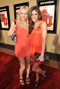 Helena Mattsson and Kayla Ewell at the premiere of