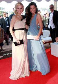 Helena Mattsson and Sofia Mattsson at the