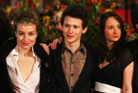 Anamaria Marinca, Joel Basman and Stine Fischer Christensen at the premiere of