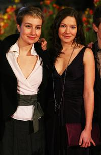 Anamaria Marinca and Hannah Herzsprung at the premiere of