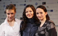 Anamaria Marinca, Hannah Herzsprung and Stine Fischer Christensen at the photocall of