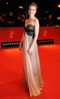 Anamaria Marinca at the premiere of