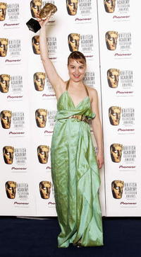 Anamaria Marinca at the Pioneer British Academy Television Awards.