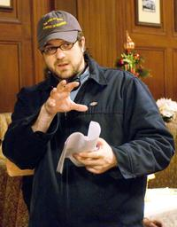 Director Seth Gordon on the set of