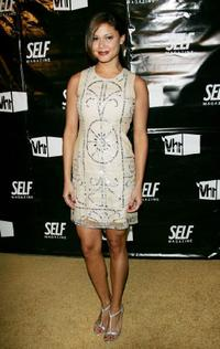 Vanessa Minnillo at the Self Magazine and VH1 Present Hollywoods Tightest Bodies party.