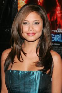 Vanessa Minnillo at the premiere of