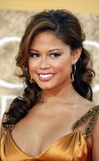 Vanessa Minnillo at the 64th Annual Golden Globe Awards.