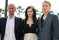 Joseph Fiennes, Eva Green and Jamie Campbell Bower at the premiere of