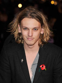 Jamie Campbell Bower at the world premiere of