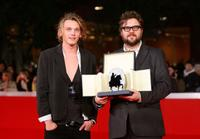 Jamie Campbell Bower and director Martin Koolhoven at the 4th International Rome Film Festival.