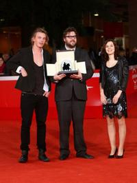 Jamie Campbell Bower, director Martin Koolhoven and Guest at the 4th International Rome Film Festival.