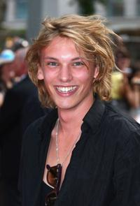 Jamie Campbell Bower at the European premiere of