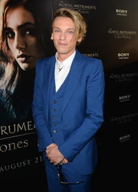 Jamie Campbell Bower at the California premiere of