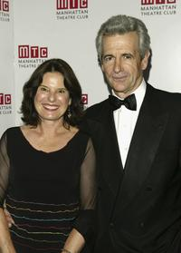 James Naughton and wife at the Manhattan Theatre Club's Spring Gala.