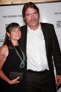 Brian Dierker and Guest at the world premiere of