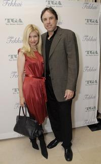 Kevin Nealon and his wife Susan Yeagley at the Gersh Agency pre-Emmy party.