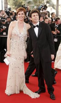 Claire Nebout and guest at the world premiere opening gala of