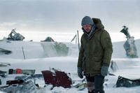 Liam Neeson as Ottway in ``The Grey.''
