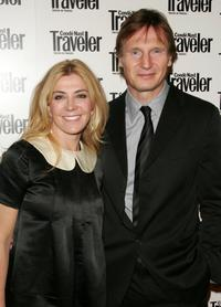 Natasha Richardson and Liam Neeson at the Conde Nast Traveler 19th Annual Reader's Choice Awards.