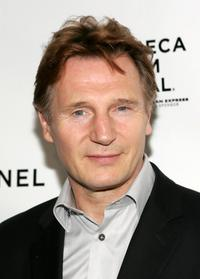 Liam Neeson at the Chanel Tribeca Film Festival Dinner during the 2008 Tribeca Film Festival.