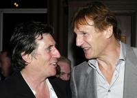 Liam Neeson and Gabriel Byrne at the 8th Annual Spirit of Ireland Benefit Gala.