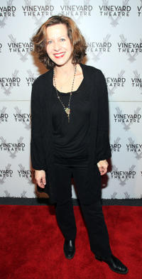 Betsy Aidem at the Off-Broadway Opening Night of