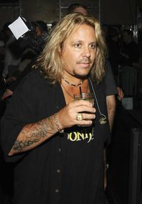 Vince Neil at the Vince Neil Live In Concert.
