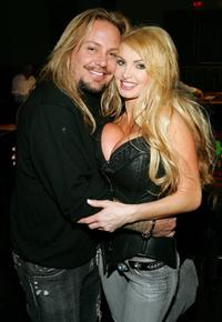 Vince Neil and Taylor Wane at the Vince Neil's 2nd Annual Off The Strip Poker Tournament.