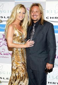 Vince Neil and Guest at the Lili Claire Foundations 2004 Las Vegas Benefit Gala.