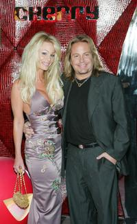 Lia Neil and Vince Neil at the Rande Gerber Hosts Grand Opening Of His New Nightclub