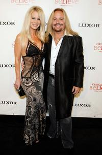 Lia Neil and Vince Neil at the gala premiere of