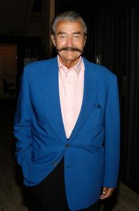 Leroy Neiman at the 80th birthday party for restaurateur George Lang.