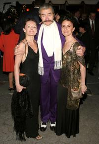 Christine Dakin, Leroy Neiman and Terese Cappicelli at the Martha Graham Dance Company opening night gala.