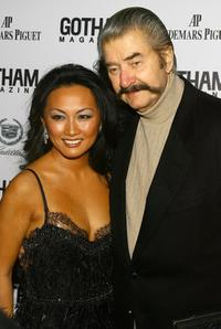 Ginny Barber and Leroy Neiman at the Gotham Magazine's Seventh Annual Gala.