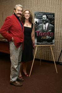 Leroy Neiman and Director Kristi Jacobson at the premiere of