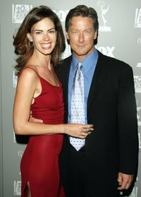 John Allen Nelson and Justine Eyre at the 20th Century Fox Television and FOX Broadcasting Company 2006 Emmy party.