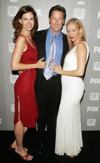 Justine Eyre, John Allen Nelson and Penelope Ann Miller at the 20th Century Fox Television and FOX Broadcasting Company 2006 Emmy party.
