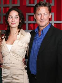 Joanne Kelly and John Allen Nelson at the FOX Broadcasting Company Upfront.