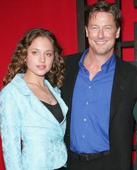 Margarita Levieva and John Allen Nelson at the FOX Broadcasting Company Upfront.