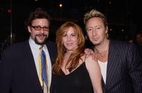 Judd Nelson, Melissa Gilbert and Julian Lennon at the Julian Lennon's birthday party.