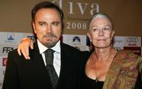 Franco Nero and Vanessa Redgrave at the Diva Awards.