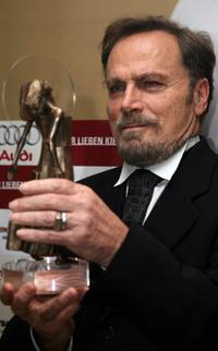 Franco Nero at the Diva Awards.